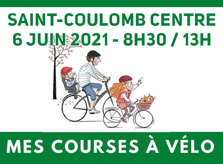 Mes courses à Vélo - Saint-Coulomb